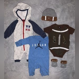4 piece Baby Boy Outfits (assorted brands)